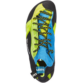 Scarpa Mago Climbing Shoes Unisex bright lime